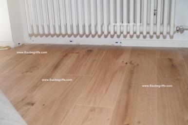 Mängel Bei Fußbodenbelägen Aus Vinyl HolzmannBauberatung - Klick vinyl verlegerichtung