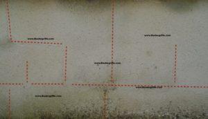 Turbo Putzrisse bei Innenputzen und Außenputzen PG41