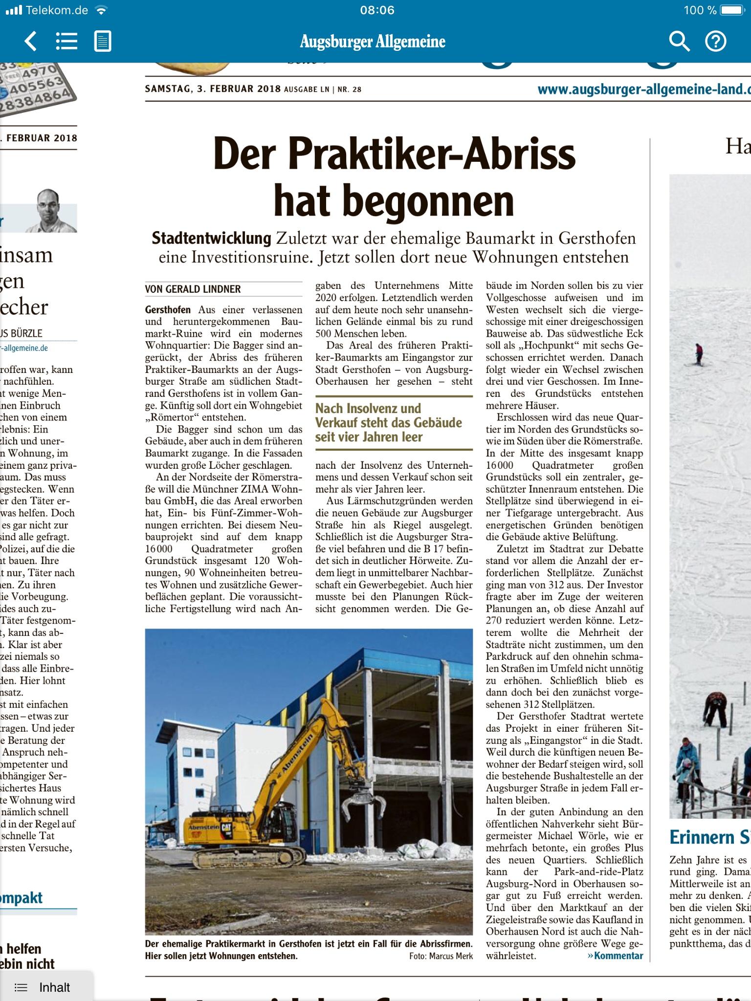 Praktiker Gersthofen - Holzmann-Bauberatung