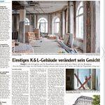 Umbau von Königsbau und Bergerhaus in Augsburg